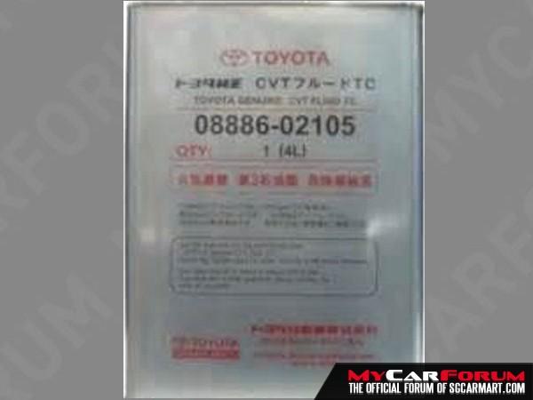 Toyota CVT TC Fluid