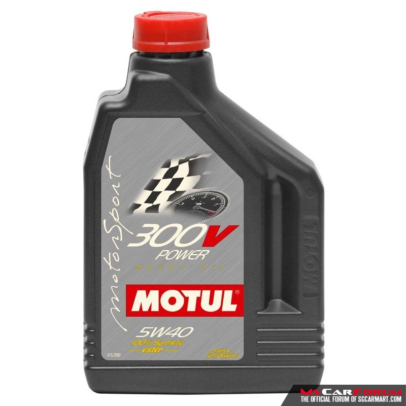 Motul 300V 5W40 Servicing Package