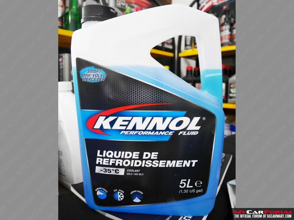 Kennol Performance Coolant -35°C Coolant Fluid