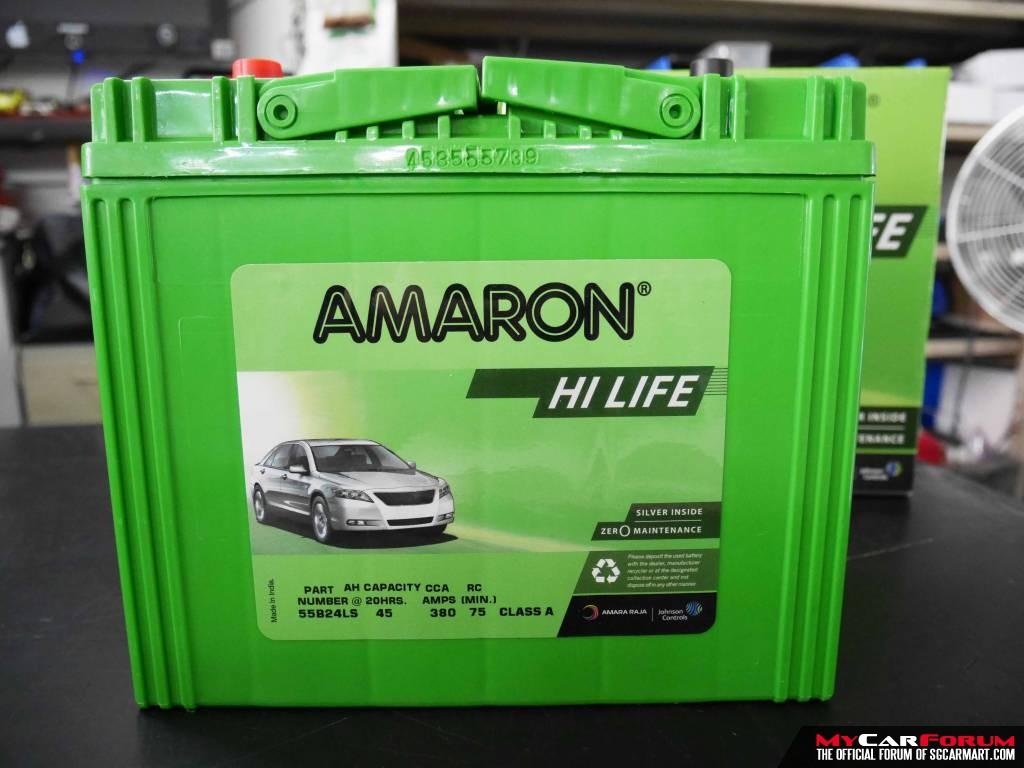 Amaron NS60 Hi-Life Car Battery