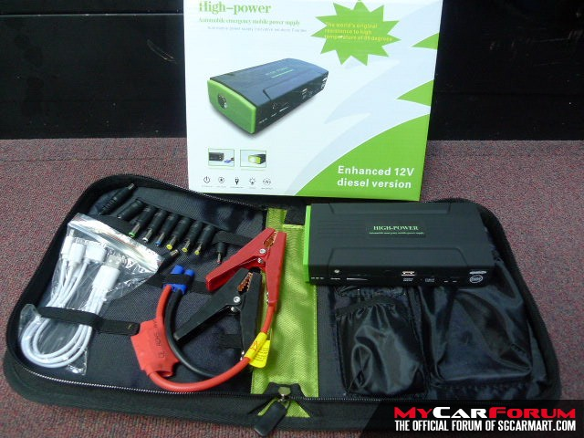 High Power Automobile Emergency Mobile Power Supply