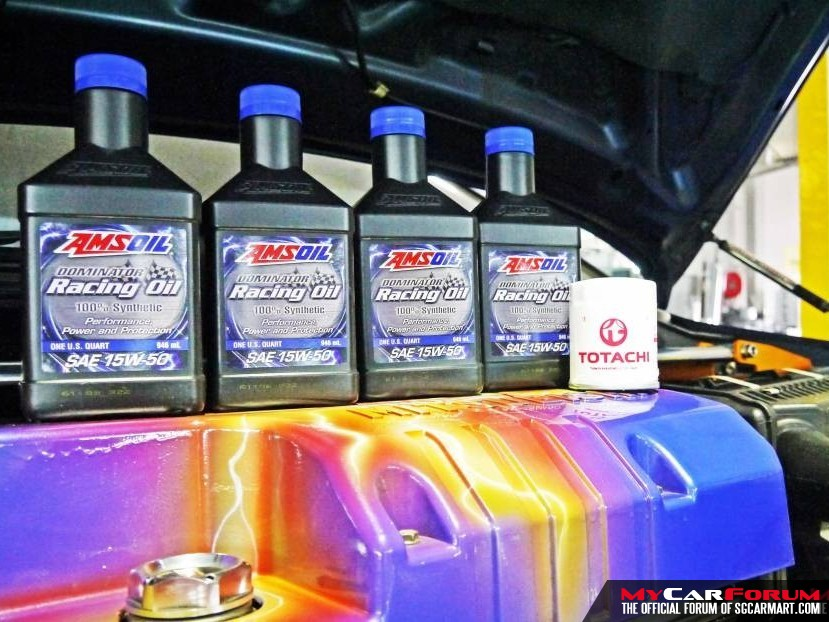 Amsoil Dominator 15W50 100% Synthetic Japanese Cars Servicing Package