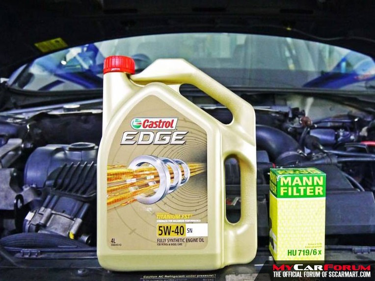 Castrol EDGE 5W40 Fully Synthetic Vehicle Servicing Package