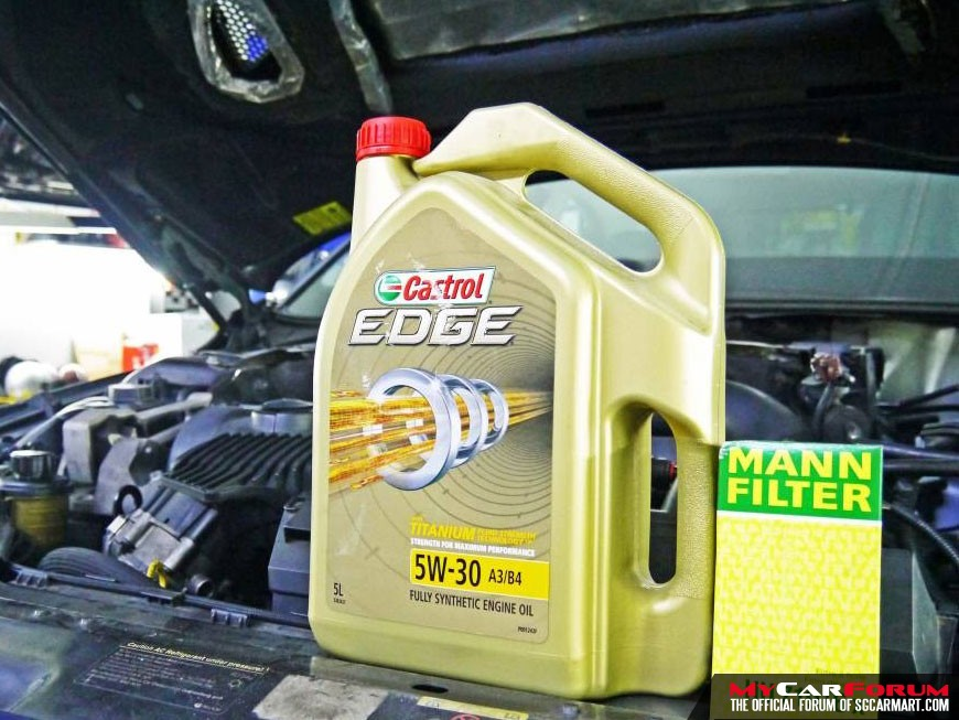 Castrol EDGE 5W30 Fully Synthetic Vehicle Servicing Package