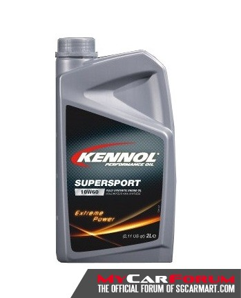 Kennol Supersport 10W60 Fully Synthetic High-Performance Car Engine Oil 2L