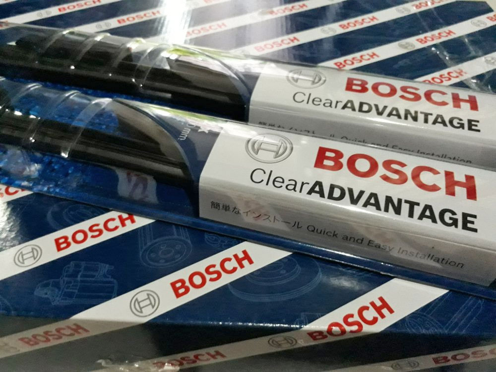 Bosch Clear Advantage All-Weather Performance U Hook Type Wiper Blades