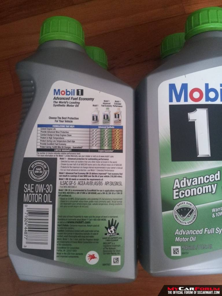 Mobil 1 0W-30 Advanced Fuel Economy Eng... For Sale | sgCarStore
