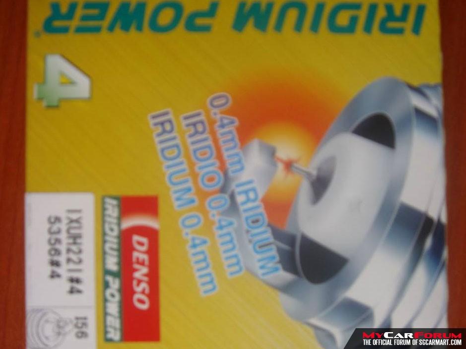 Denso Iridium Power Spark Plug (IXUH22i)