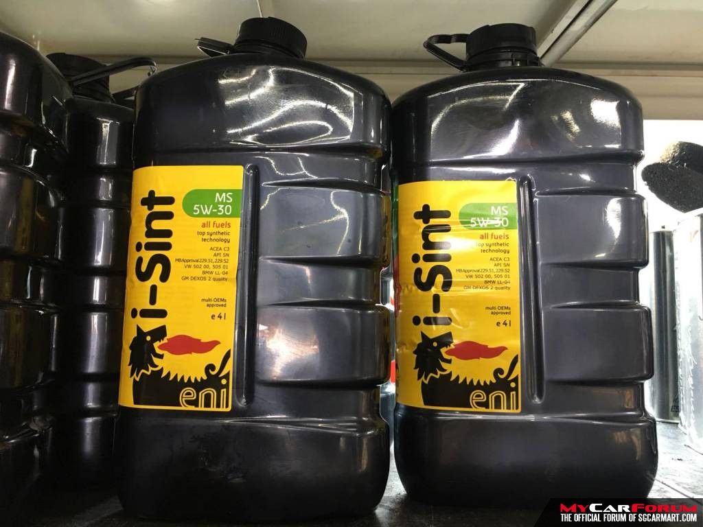 Eni i-Sint MS 5W-30 Vehicle Servicing Package