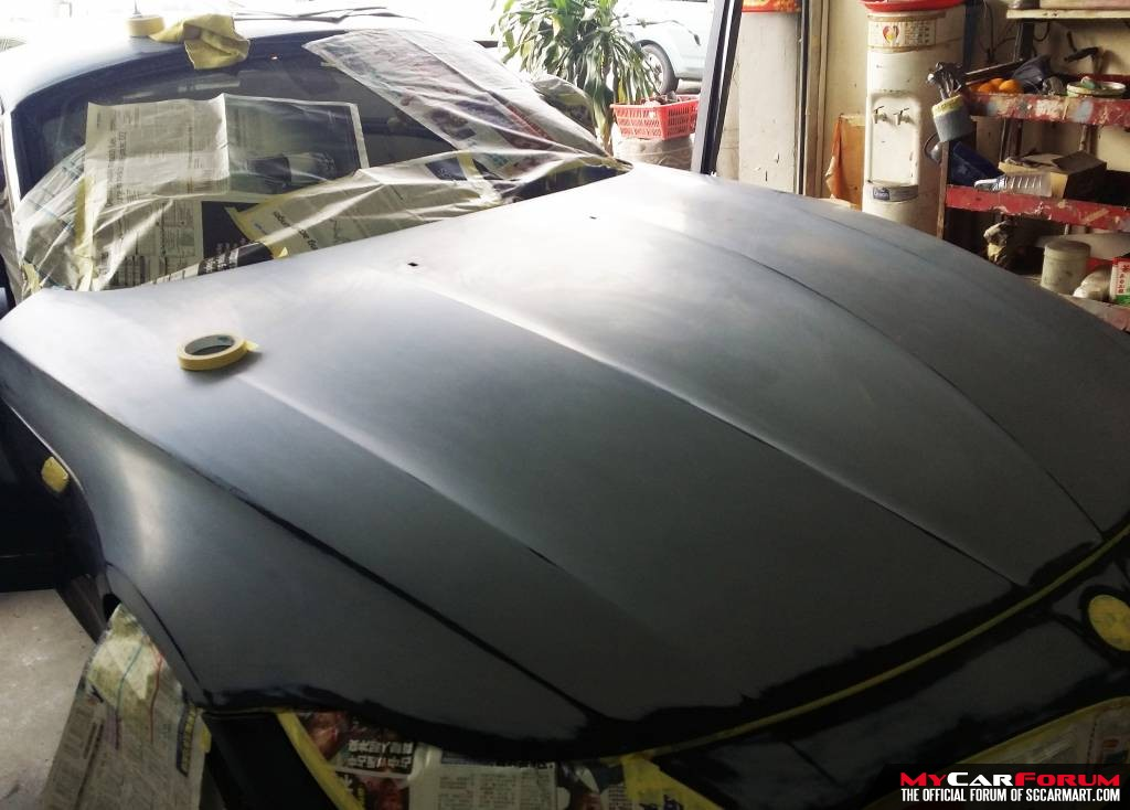 Respraying of Whole Car Exterior (Same Colour)
