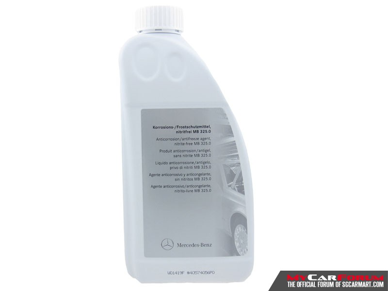 Mercedes-Benz Anticorrosion/Antifreeze Agent (1.5L)