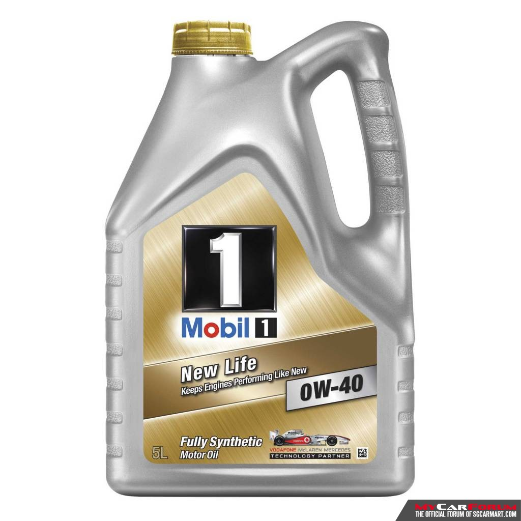 Mobil 1 New Life 0W-40 Servicing Package