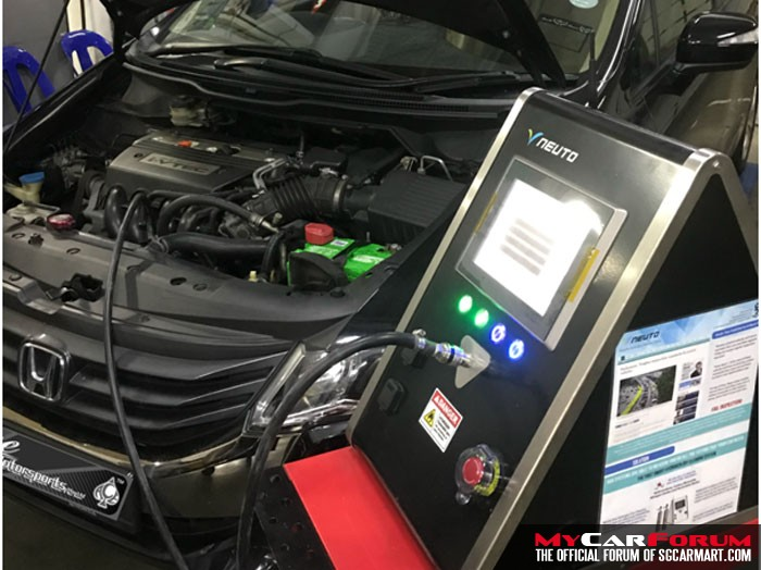 NEUTO Dry Hydrogen Car Engine Cleaning Therapy