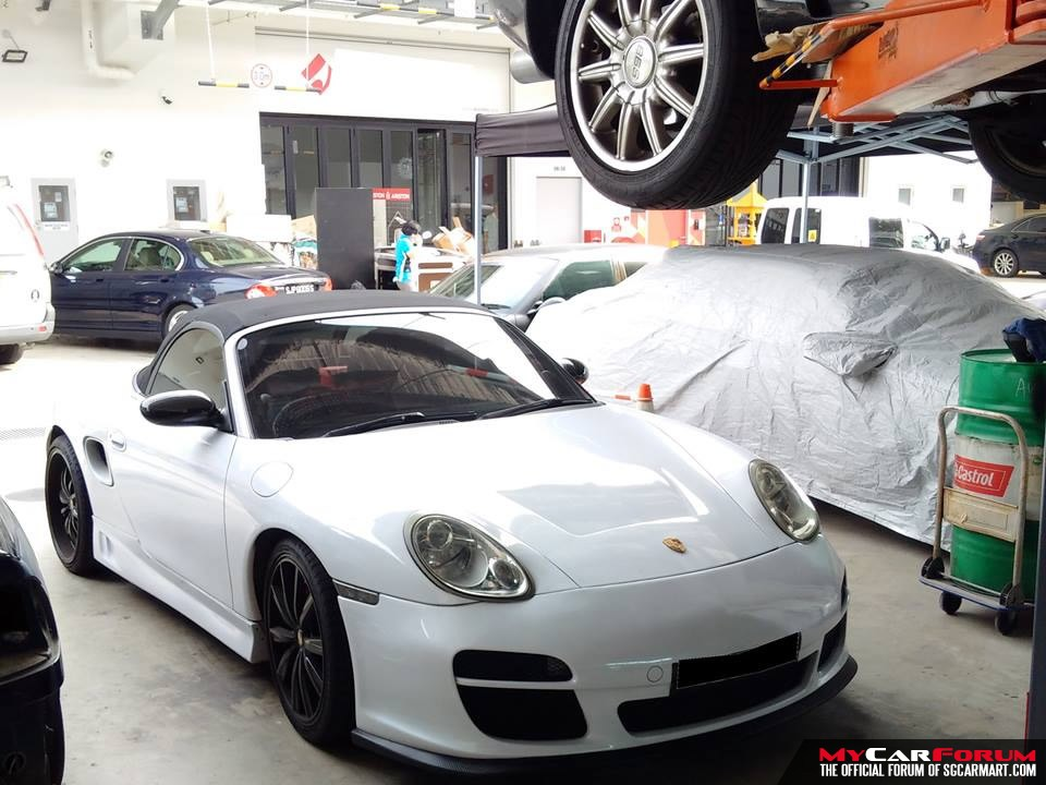 Schaeffer Supreme Porsche Cars Servicing (With Computer Diagnosis)