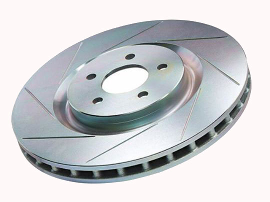 Brembo Slotted Disc Rotors And Brake Pad