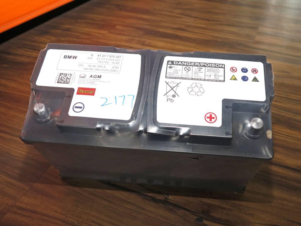 Varta AGM Battery Replacement