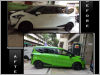 Toyota Sienta Special Color With Pearl Diamond Effect Spray Painting Service