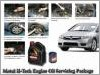 Honda Civic FD Motul H-Tech 100 10W40 Engine Oil Servicing
