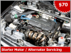 Starter Motor And Alternator Servicing