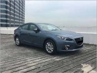 New Mazda 3 Rental  Leasing Front View Blue_99483_1.JPG