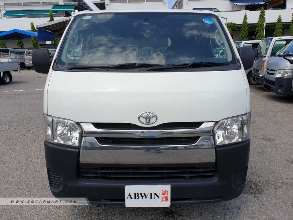 Toyota Hiace Manual (For Rent)