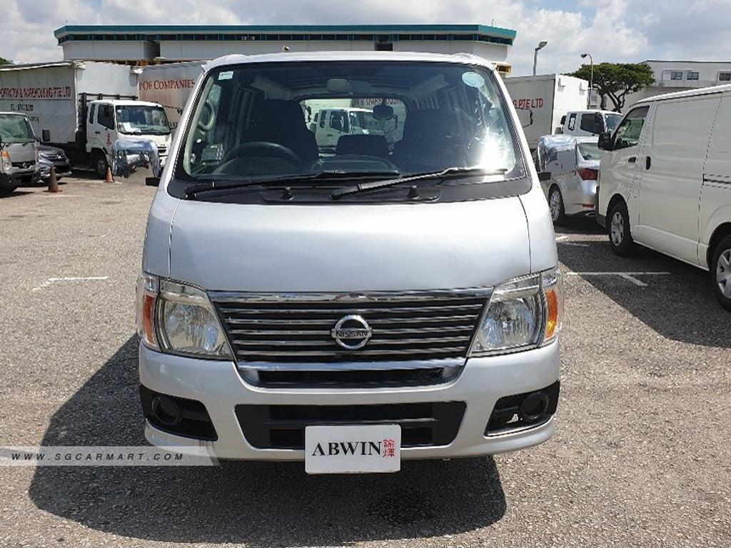 Nissan Urvan Manual Diesel (For Lease)