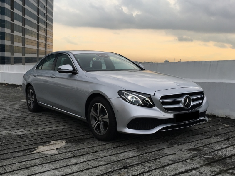 Mercedes-Benz E Class E200 Brand New (For Lease)