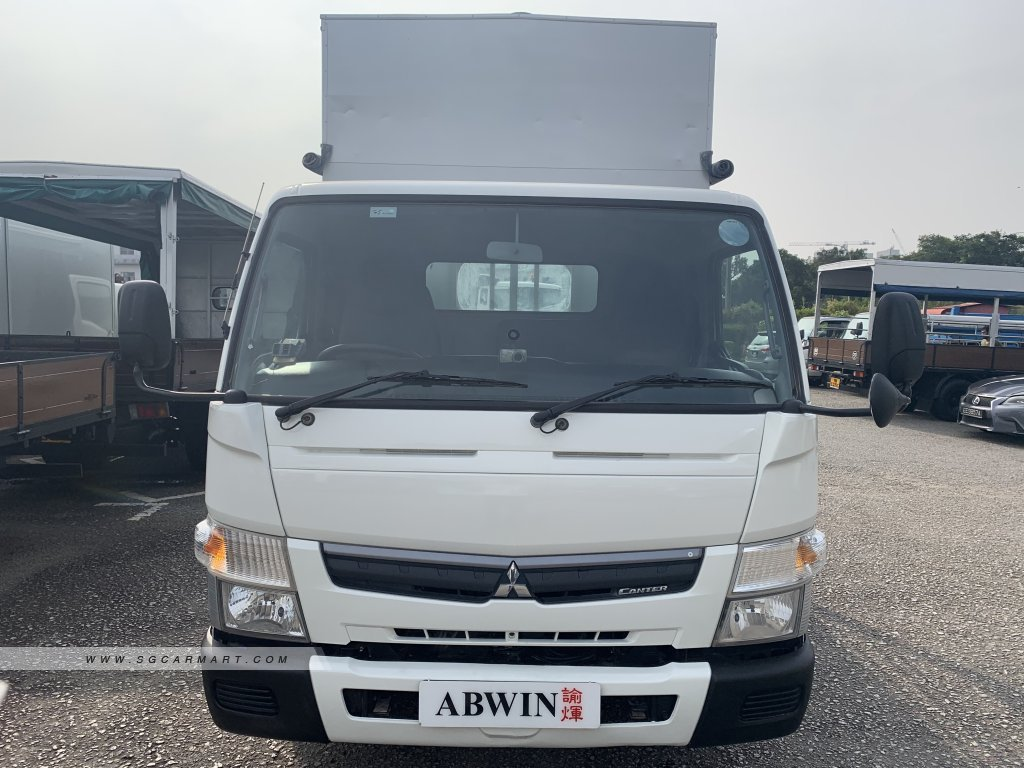 14 FT Mitsubishi Fuso FEB21 Diesel (For Lease)