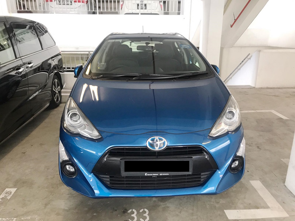 Toyota Prius C (PHV Private Hire Rental)