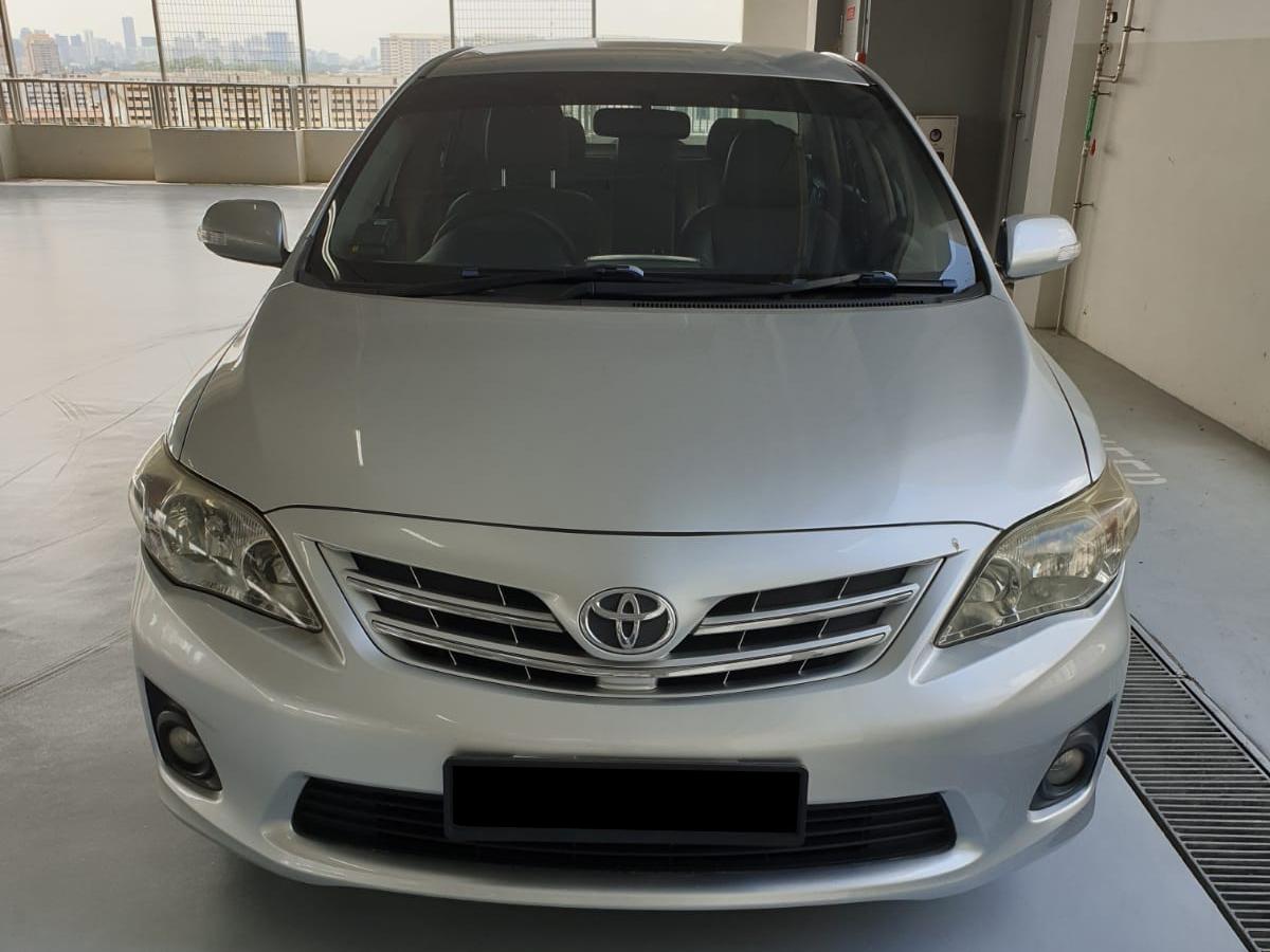 Toyota Corolla Altis (For Rent)