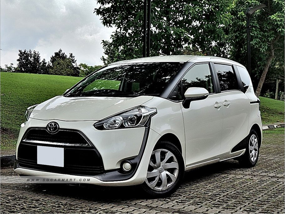 Toyota Sienta 1.5 Auto (For Lease)