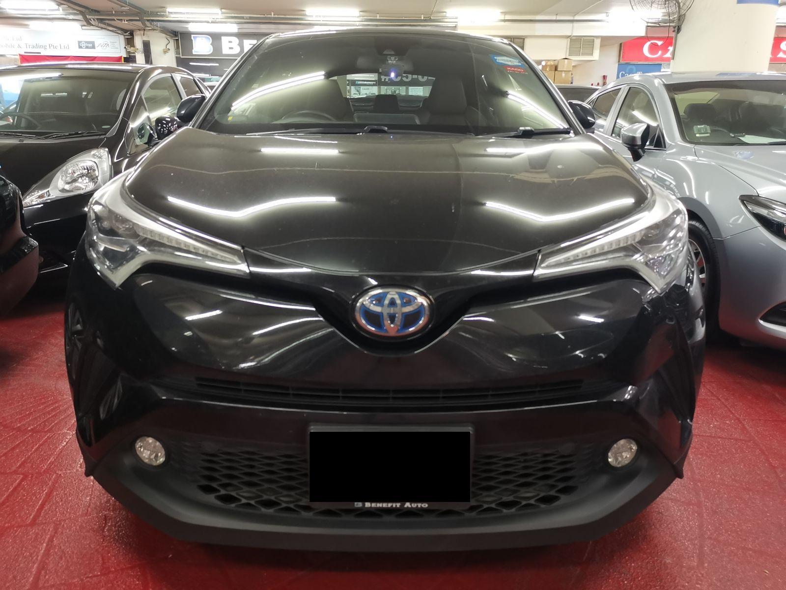 Toyota C-HR Hybrid 1.8A (For Rent)