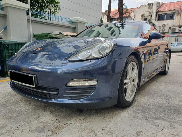 Porsche Panamera (For Rent)