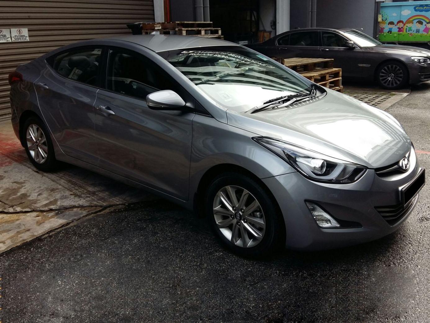 Hyundai Elantra Elite 1.6A (For Rent)