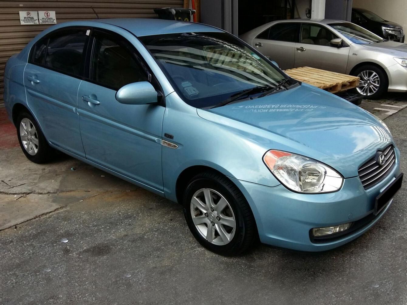 Hyundai Verna 1.6A (For Rent)