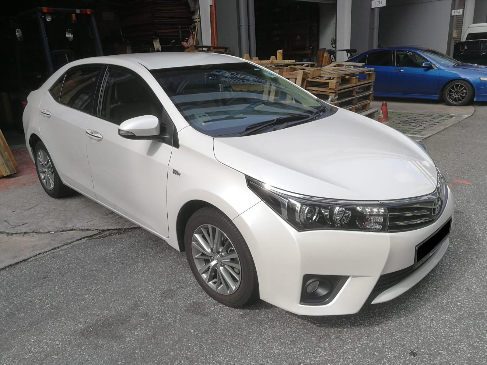 Toyota Altis Elegance 1.6A (For Rent)