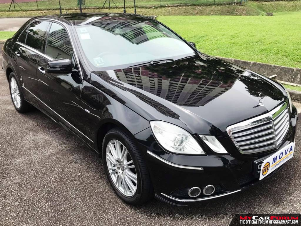 Mercedes-Benz E200 2010 (For Rent)