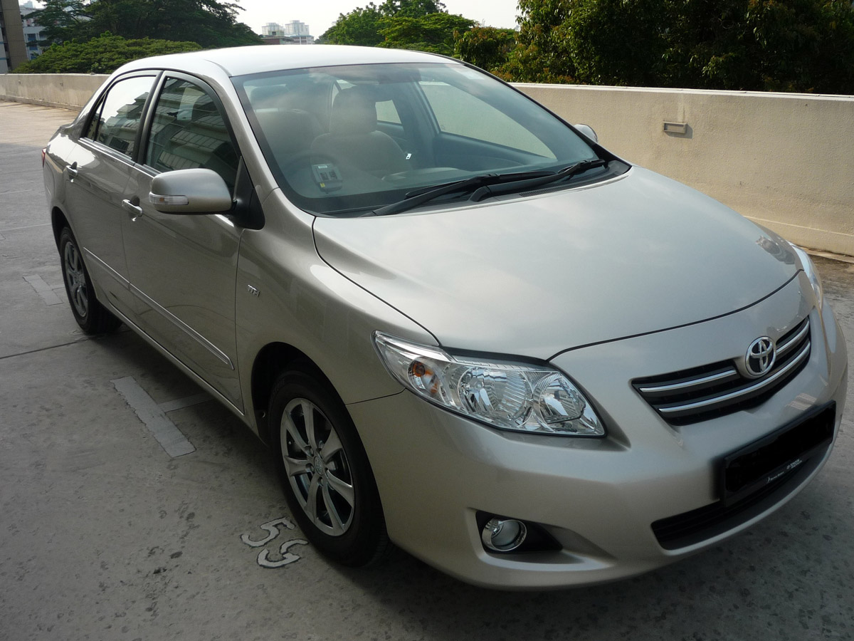 Toyota Altis 1.6A (For Rent)