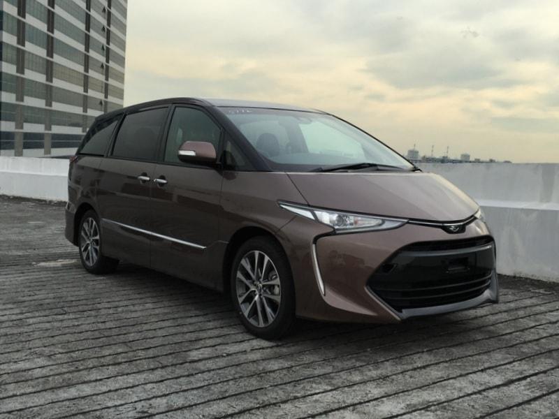 Toyota Estima Brand New (For Lease)