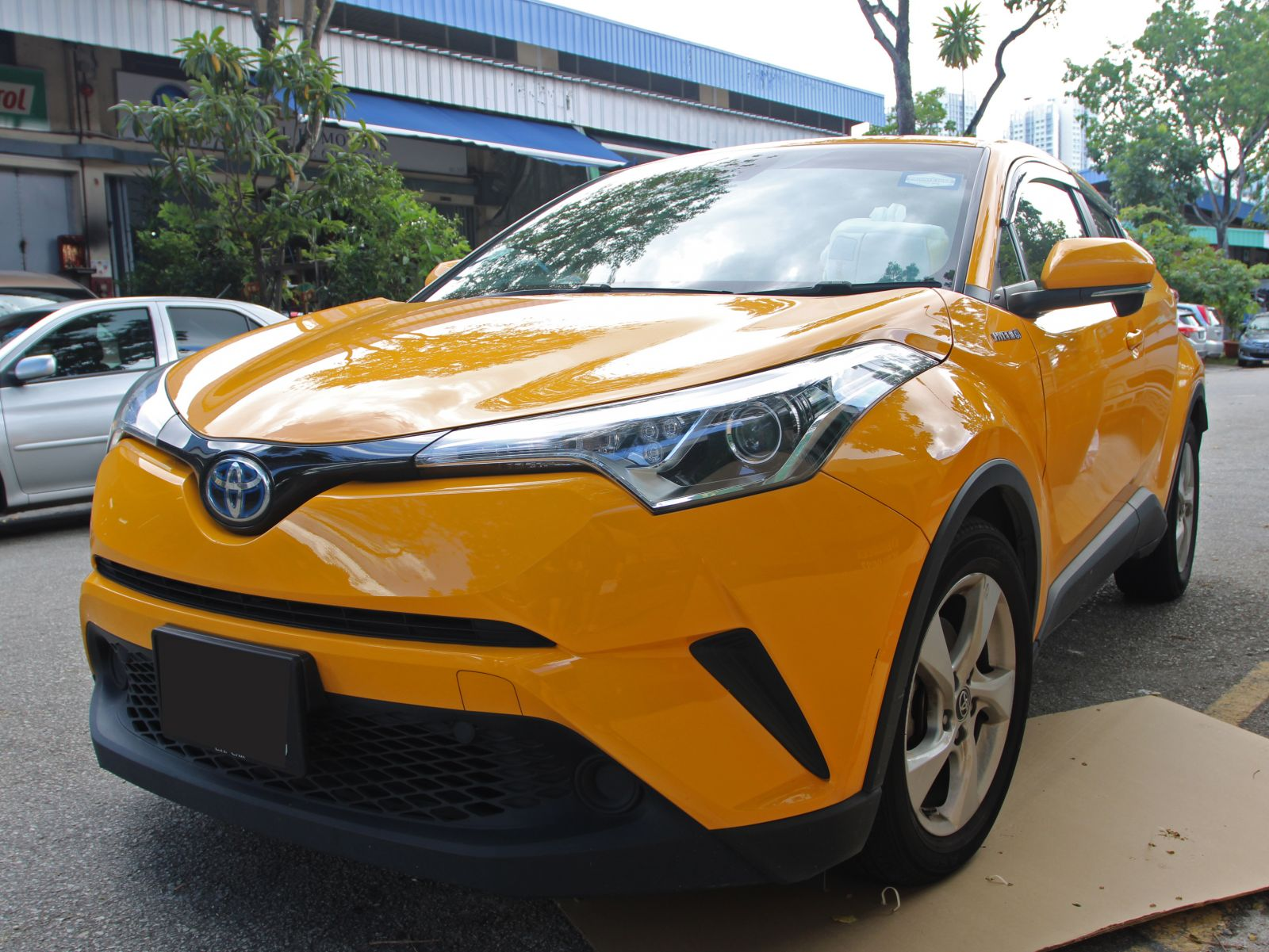 Toyota C-HR Hybrid (PHV Private Hire Rental)