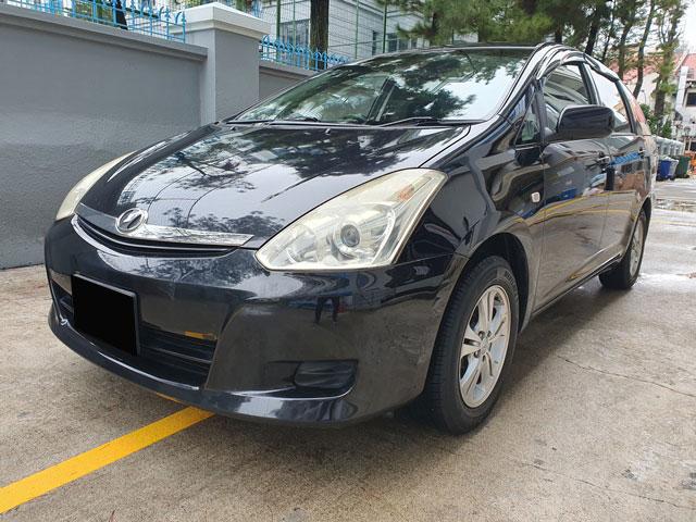 Toyota Wish (PHV Private Hire Rental)