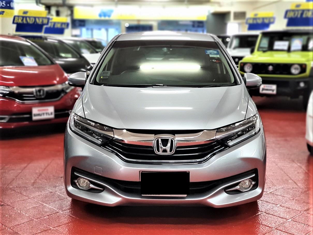 Honda Shuttle Hybrid (PHV Private Hire Rental)