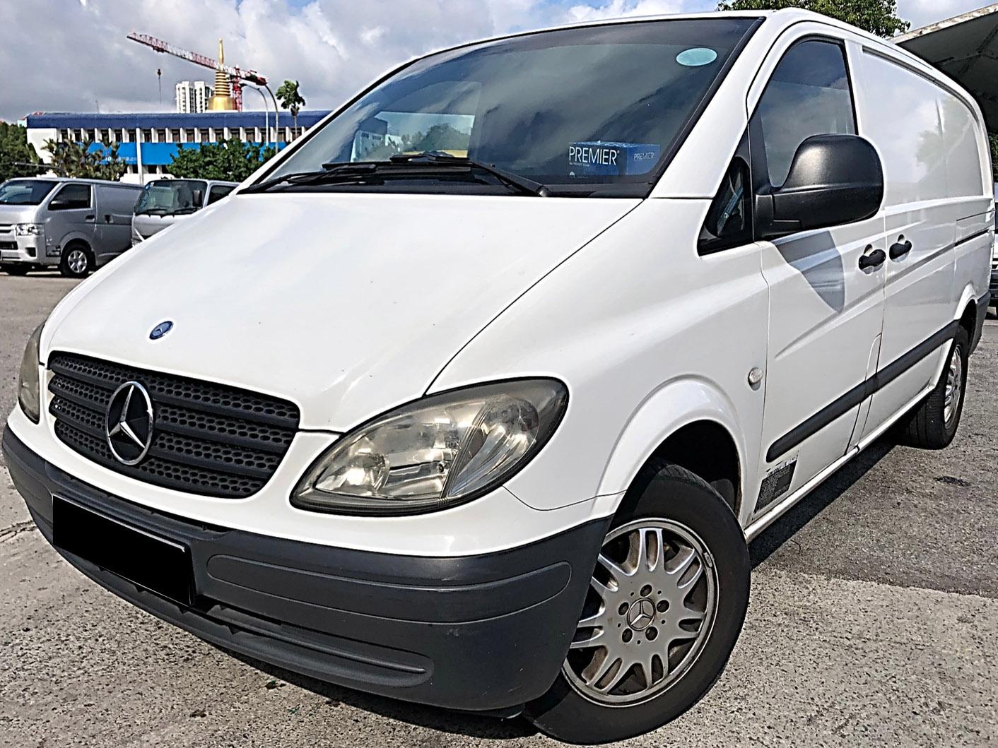 Mercedes-Benz Vito (For Rent)