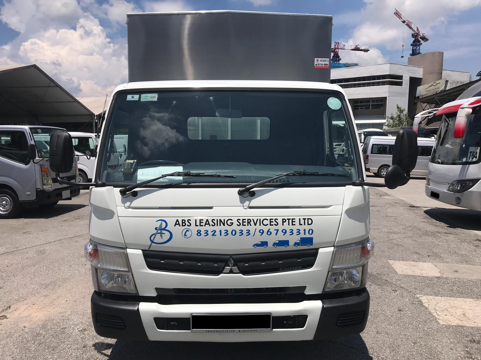 14ft Mitsubishi Truck With Box (For Rent)