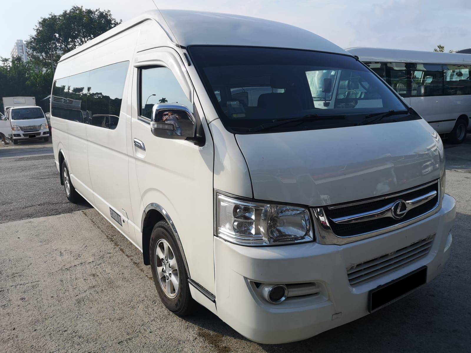 Joylong Hi Roof 14 Seaters Van (For Rent)