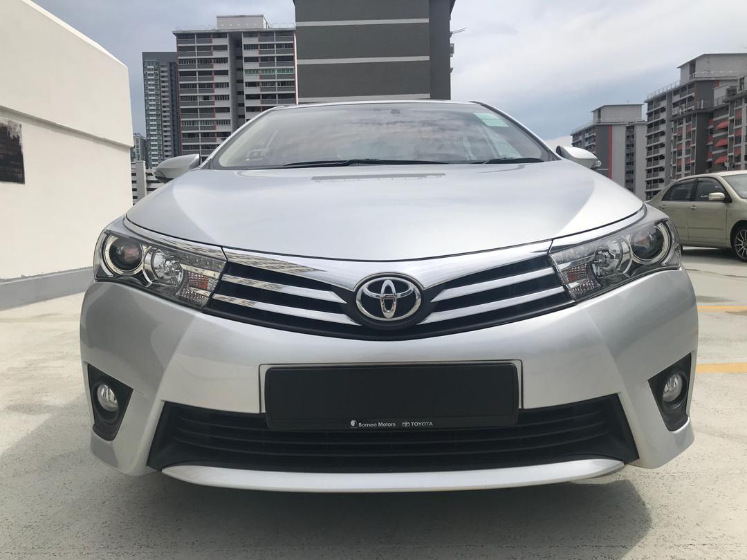 Toyota Corolla Altis 1.6L CVT (For Rent)