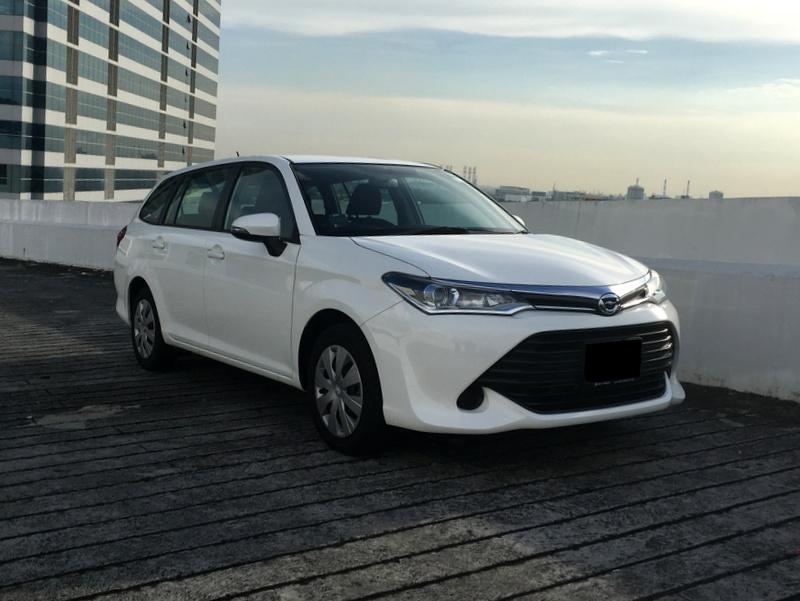 Toyota Fielder (For Lease)