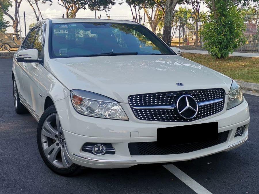 Mercedes-Benz C Class C180K (For Rent)
