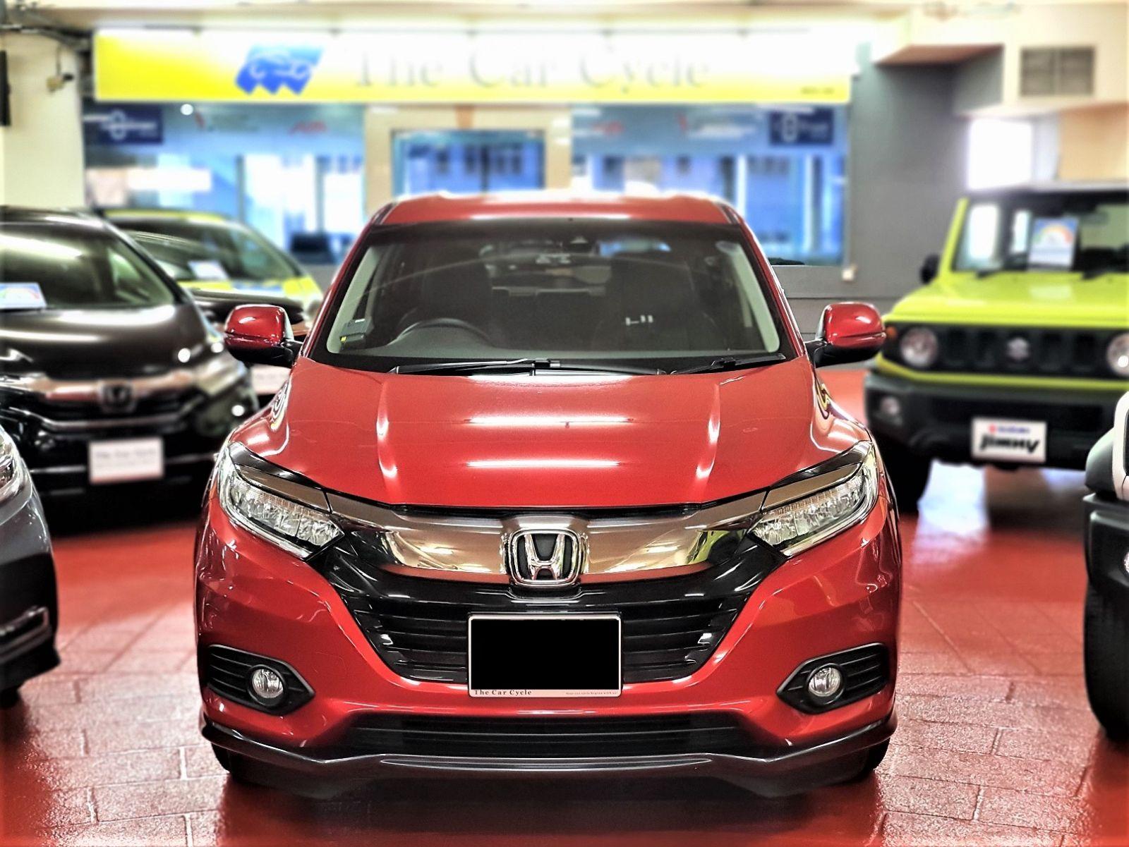 Honda Vezel Hybrid (PHV Private Hire Rental)