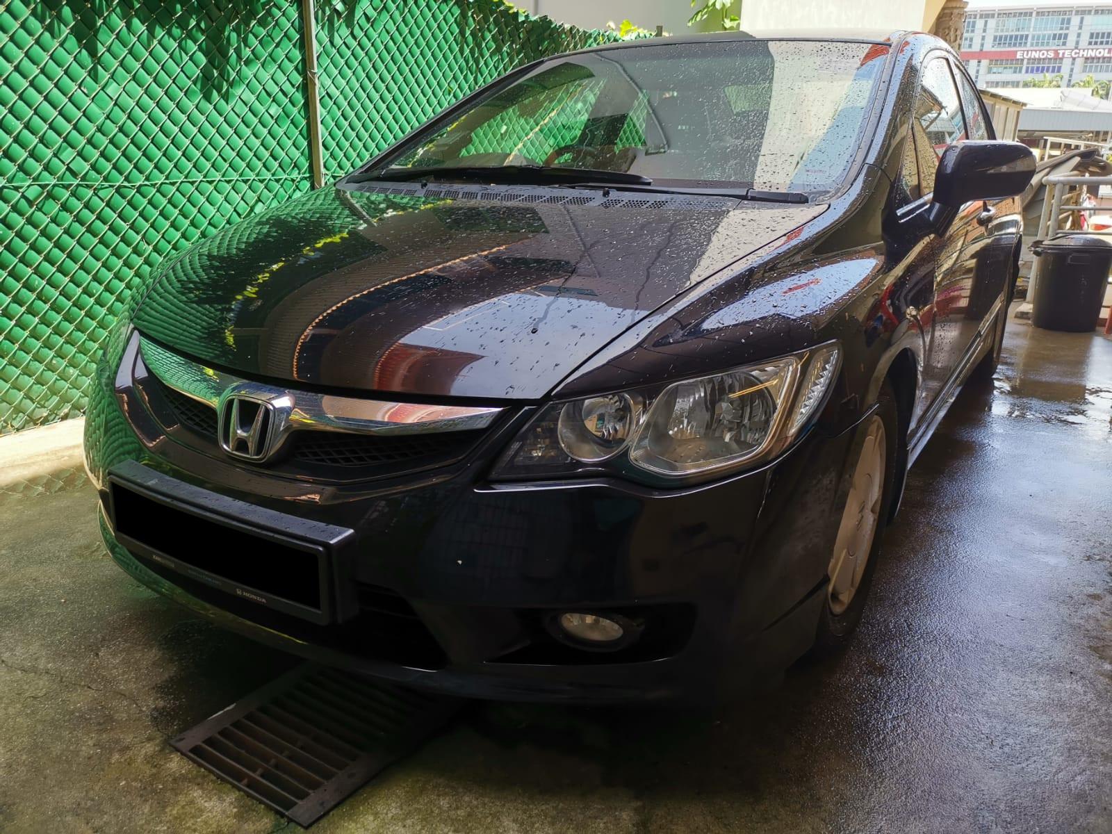 Honda Civic Hybrid 1.3A (For Rent)